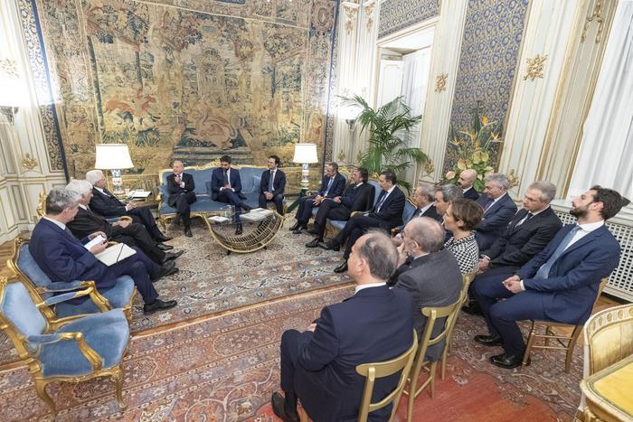 Italiacamp:Mattarella riceve delegazione