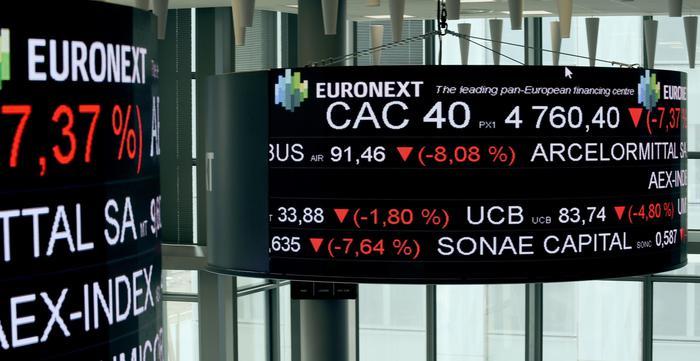 Borsa: Europa termina debole, Parigi -1,43%