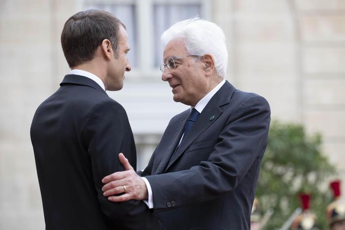 Mattarella a Parigi, il 5 luglio incontro con Macron