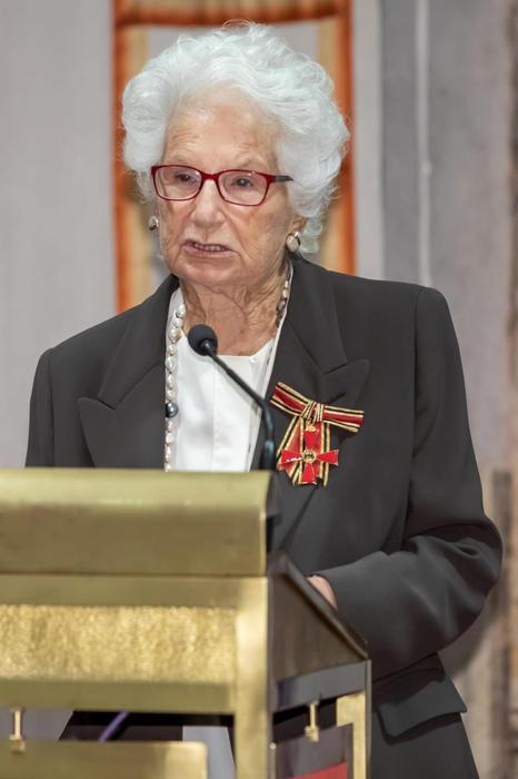 Segre: Germania le conferisce onorificenza Ordine al merito