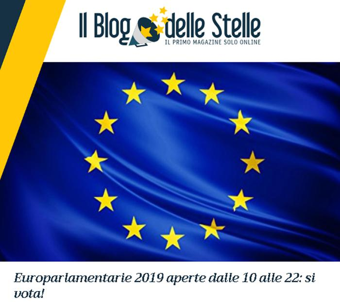 M5S: 200 a 2/o turno Europarlamentarie
