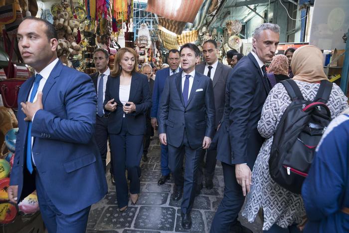 Governo: pranzo Conte-Salvini-Di Maio