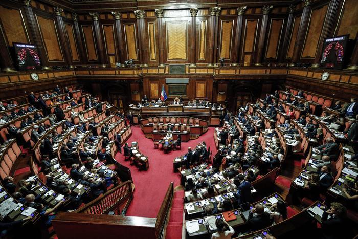 Senato: Corti prende posto dem Patriarca
