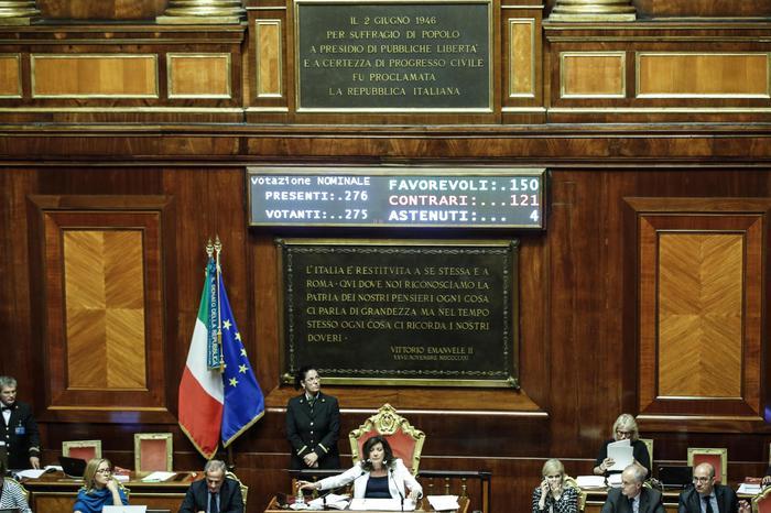 Senato, subentra Pavanelli di 5s. Corti sostituisce Patriarca