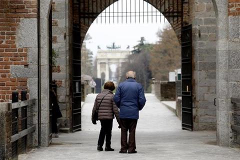 Italiani i più vecchi d