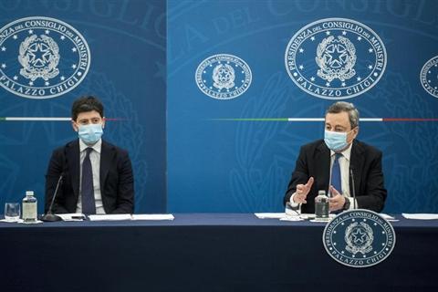 La conferenza stampa di Draghi e Speranza - TUTTI I VIDEO