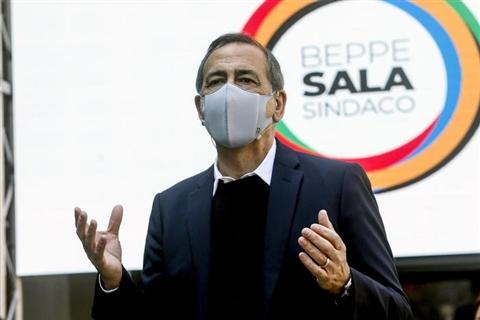 Milano: Sala presenta sua lista, logo richiama Olimpiadi
